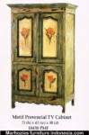 Motif Provensial TV Cabinet