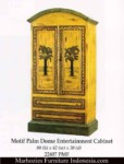 Motif Palm Dome Entertainment Cabinet.
