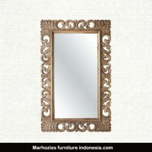 Porter Rustic Carved Mirror