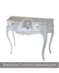 CONSOLE LENGKUNG 3DWR WHITE JUN
