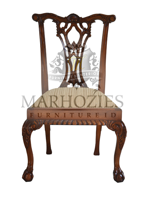 CHIPPENDALE SIDE CHAIR (C109E-ASD-15)